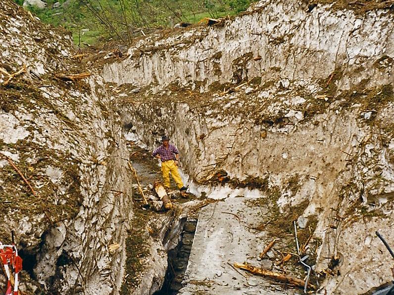 Die Räumung der Gratlawine in Blatten dauert rund zwei Jahre.