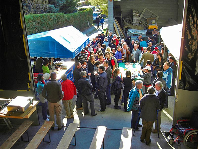 2010 feiert Forst Massa sei 20-Jahr-Jubiläum mit einer Feier im Werkhof.